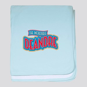 The Incredible Deandre baby blanket