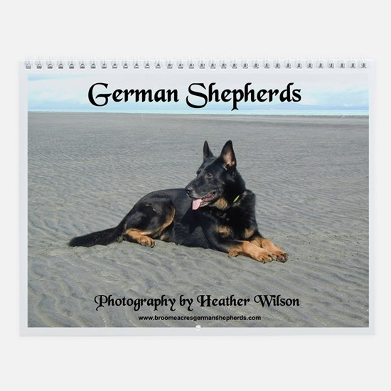 German Shepherd Dog  Wall Calendar