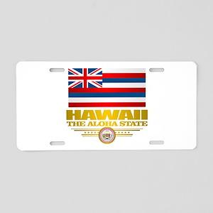 Hawaii Pride Aluminum License Plate