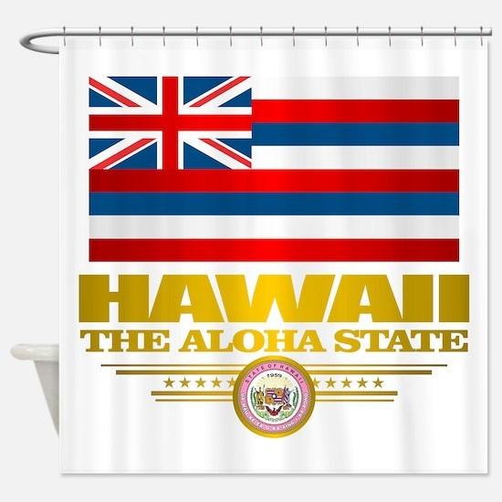 Hawaii Pride Shower Curtain