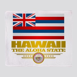 Hawaii Pride Throw Blanket