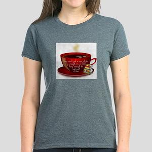 Tea Quote Women's Dark T-Shirt