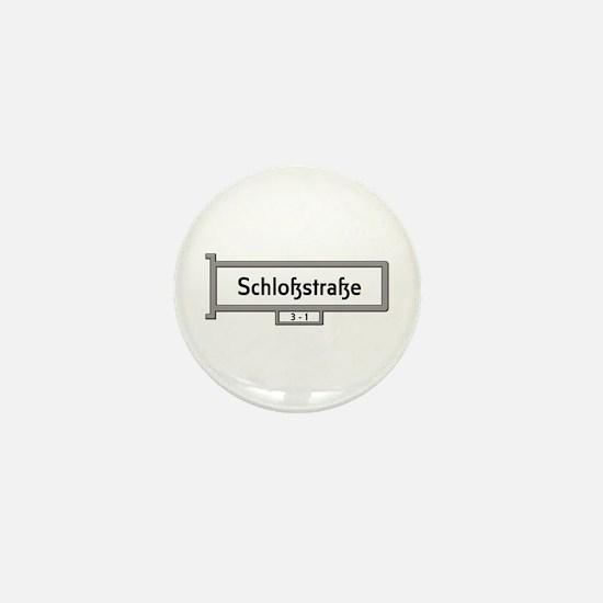 Schlosstrasse, Berlin - Germany Mini Button