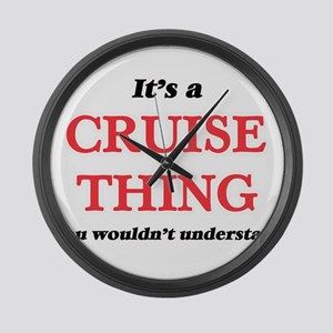 It's a Cruise thing, you woul Large Wall Clock