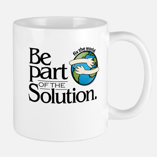 BE PART OF THE SOLUTION - Mug