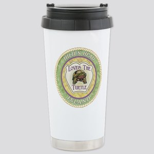 Hilton Head Turtle Stainless Steel Travel Mug