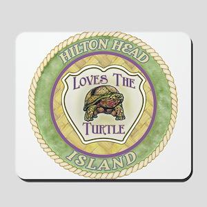 Hilton Head Turtle Mousepad