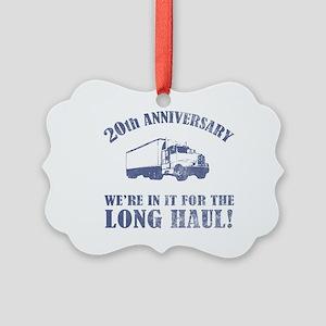 20th Anniversary Humor (Long Haul) Picture Ornamen