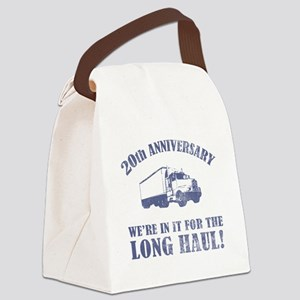 20th Anniversary Humor (Long Haul) Canvas Lunch Ba