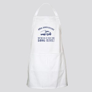 40th Anniversary Humor (Long Haul) Apron