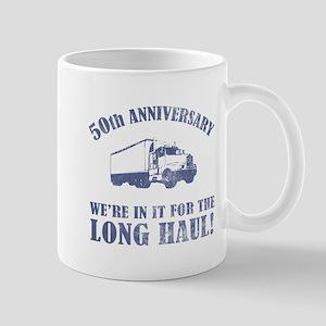 50th Anniversary Humor (Long Haul) Mug