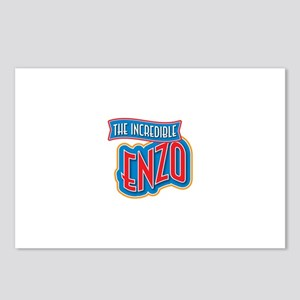 The Incredible Enzo Postcards (Package of 8)