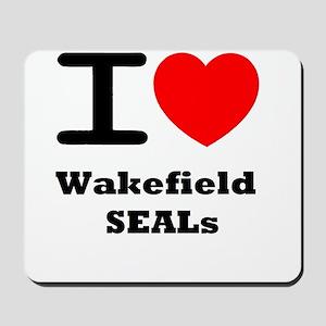 I <3 Wakefield SEALs Mousepad