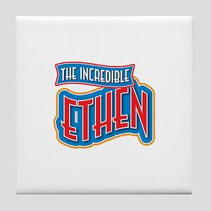 The Incredible Ethen Tile Coaster