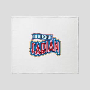 The Incredible Fabian Throw Blanket