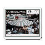 1964 World's Fair Carousel Park Mousepad