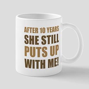 10th Anniversary Humor For Men Mug
