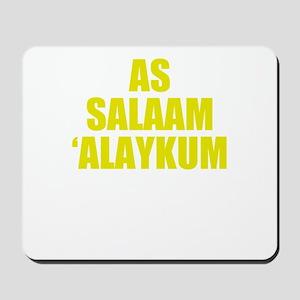 As Salaam Alaykum Homie Mousepad