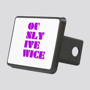 You Only Live Twice Hitch Cover