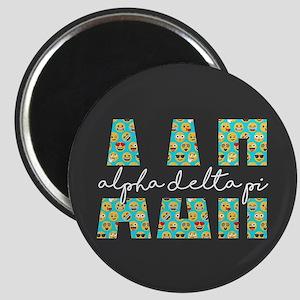 Alpha Delta Pi Letters Emoji Magnet