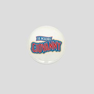 The Incredible Giovanny Mini Button
