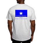 French CUC front, Bonnie Blue bck Ash Grey T-Shirt