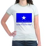Bonnie Blue & French CUC on Ringer T-shirt