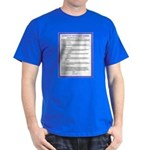 The Covenant in French on Dark T-Shirt