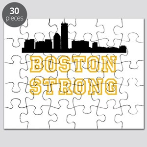 BOSTON STRONG GOLD AND BLACK Puzzle