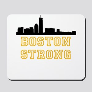 BOSTON STRONG GOLD AND BLACK Mousepad