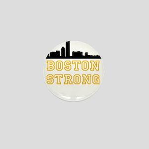 BOSTON STRONG GOLD AND BLACK Mini Button