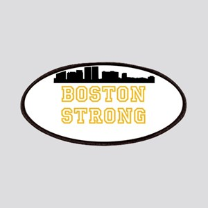 BOSTON STRONG GOLD AND BLACK Patches
