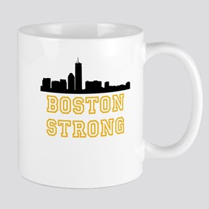 BOSTON STRONG GOLD AND BLACK Mug