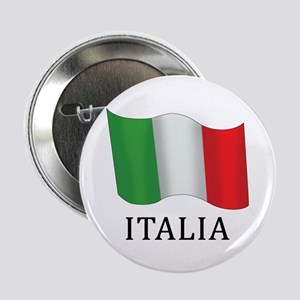 "Italia Flag 2.25"" Button"