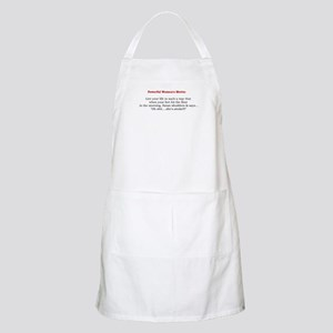 Powerful Women's Motto BBQ Apron