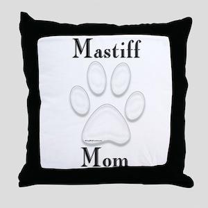 Mastiff Misc 4 Throw Pillow