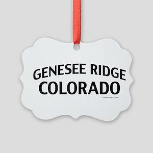 Genesee Ridge Colorado Ornament