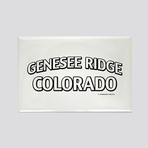 Genesee Ridge Colorado Rectangle Magnet