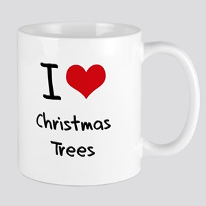 I love Christmas Trees Mug