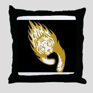 Tiger Duvet covers Throw Pillow