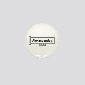 Alexanderplatz, Berlin - Ge Mini Button (100 pack)