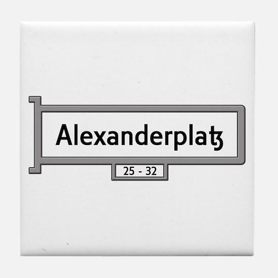 Alexanderplatz, Berlin - Germany Tile Coaster