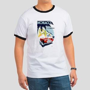 Antique 1952 Monaco Grand Prix Race Poster T-Shirt