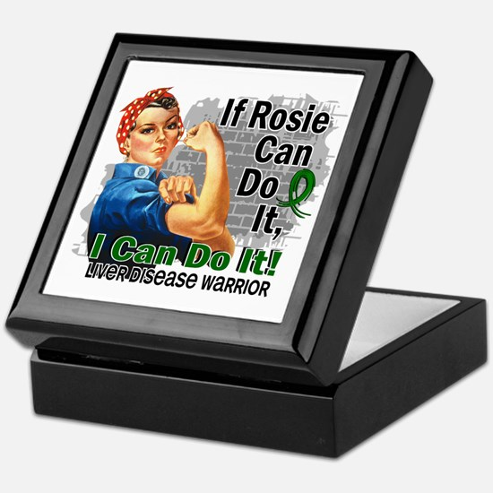 If Rosie Can Do It Liver Disease Keepsake Box