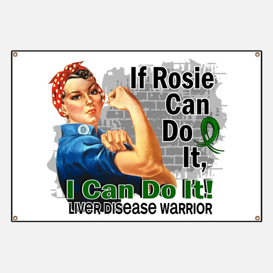 If Rosie Can Do It Liver Disease Banner
