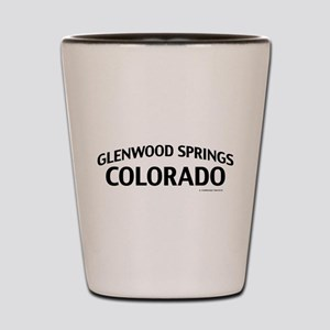Glenwood Springs Colorado Shot Glass