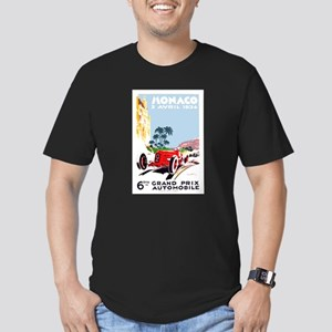 Antique 1934 Monaco Grand Prix Race Poster T-Shirt
