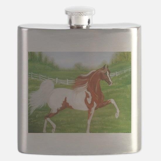 Chestnut Saddlebred Flask
