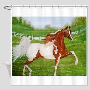 Chestnut Saddlebred Shower Curtain