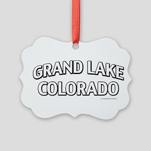 Grand Lake Colorado Ornament